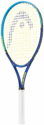 HEAD TI Conquest 2017 S20 Tennis Racquet -  Blue/Yellow Perspective: front