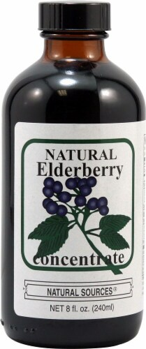Natural Sources  Elderberry Concentrate Perspective: front