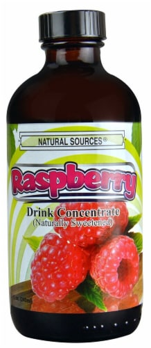 Natural Sources  Drink Concentrate   Raspberry Perspective: front