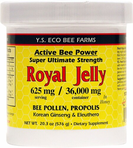 YS Eco Bee Farms  Active Bee Power Royal Jelly Paste Perspective: front