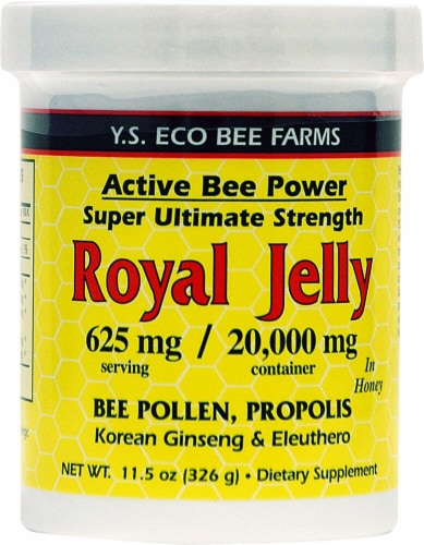 YS Eco Bee Farms  Alive Bee Power Royal Jelly Paste Perspective: front