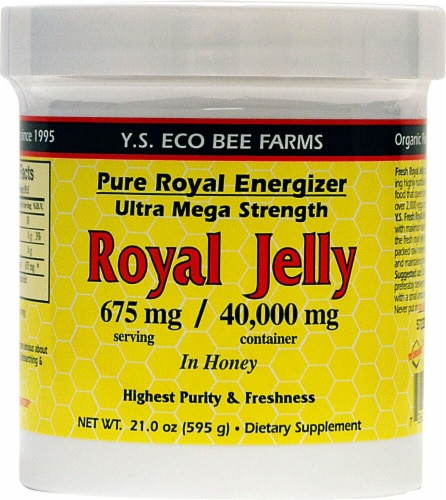 YS Eco Bee Farms  Pure Royal Energizer Perspective: front