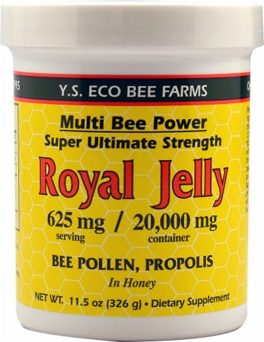 YS Eco Bee Farms  Multi Bee Power Royal Jelly Perspective: front