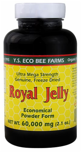 YS Eco Bee Farms  Royal Jelly Economical Powder Form Perspective: front