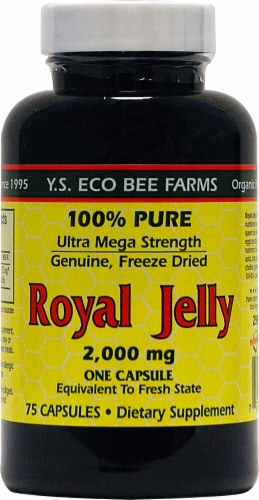 YS Eco Bee Farms  Royal Jelly Perspective: front