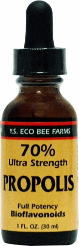 YS Eco Bee Farms  Ultra Strength Propolis Perspective: front