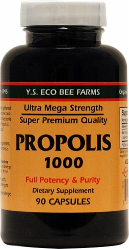 YS Eco Bee Farms  Propolis Perspective: front