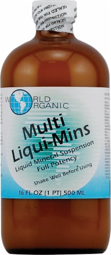 World Organic Multi-Vitamin Liquid Perspective: front