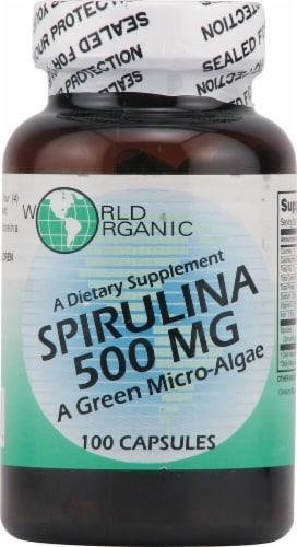 World Organic  Spirulina Perspective: front