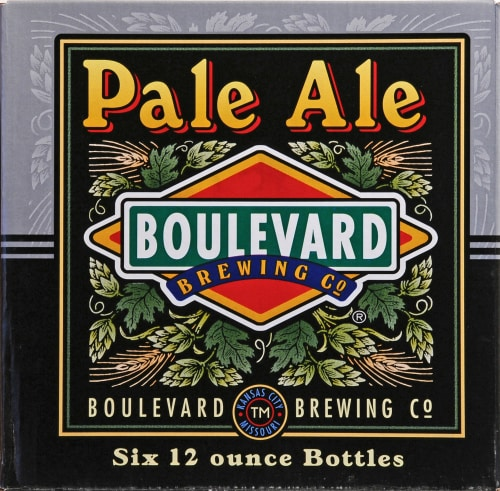 Boulevard Brewing Co. Pale Ale Perspective: front
