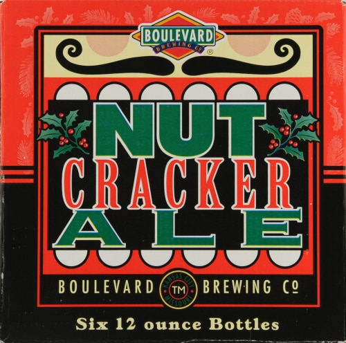 Boulevard Brewing Co. Nut Cracker Ale Perspective: front