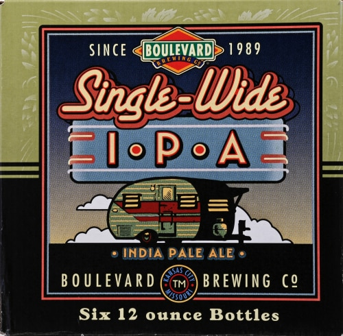 Boulevard Brewing Wheat Company Beer Pop-Up Session IPA Perspective: front