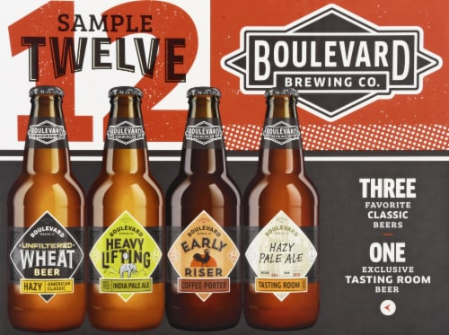 Boulevard Brewing Co. Sampler Pack Perspective: front