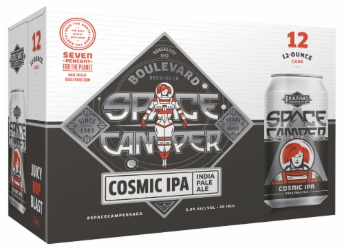Boulevard Brewing Co. Space Camper Cosmic IPA - India Pale Ale Perspective: front
