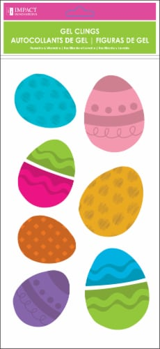 Impact Innovations Easter Gel Clings - Assorted Perspective: front