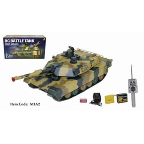 16 in. Remote Control Battle Tank Toy Perspective: front