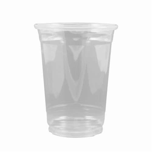 10 oz Cold Cup, Clear Perspective: front