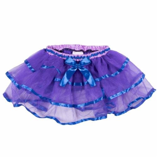 Purple & Blue Costume Tutu Perspective: front