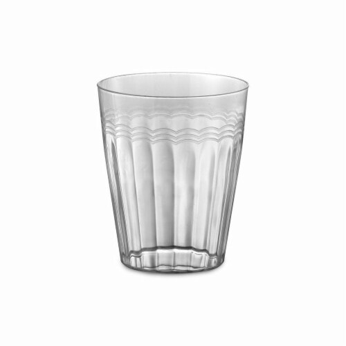 Clear 10 oz Extra Heavy Tumbler Perspective: front