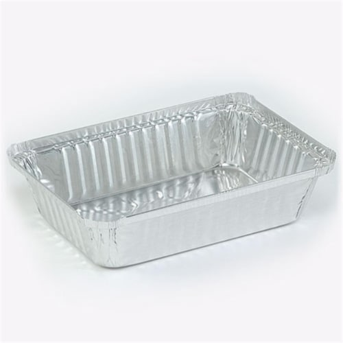Aluminum 2.25 lb. Oblong Pan - Nicole Home Collection Case of 500 Perspective: front