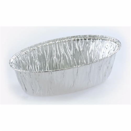 Aluminum Small Oval Baking Pan - Nicole Home Collection Case of 600 Perspective: front