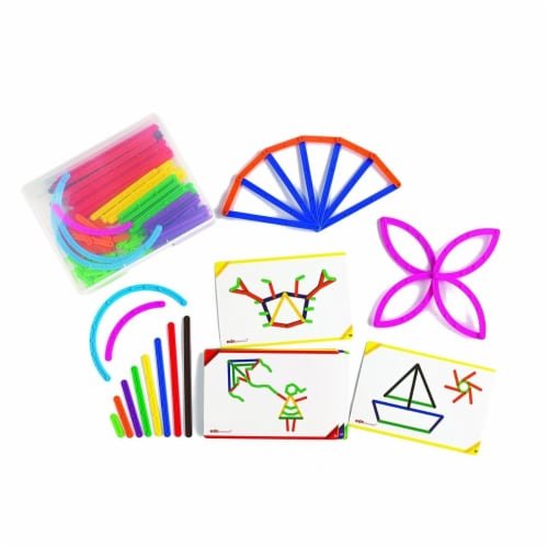 Junior Geostix - 30 Double Sided Activity Cards - Pack of 12 Perspective: front