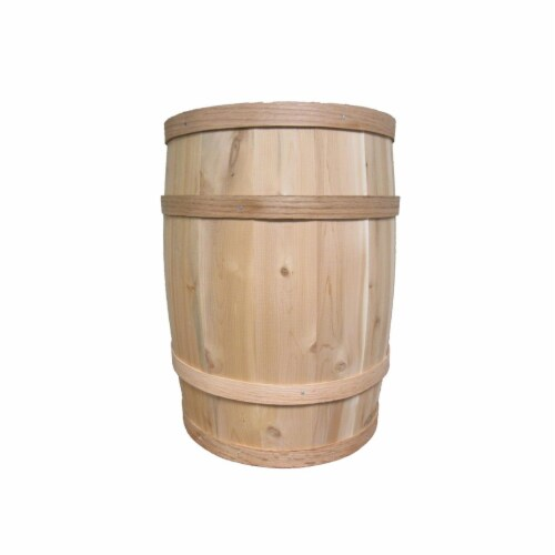 All Maine Bucket B129 12 x 19 Inch Barrel Perspective: front