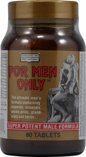 Only Natural  For Men Only Formula Perspective: front