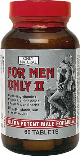 Only Natural  For Men Only II Perspective: front
