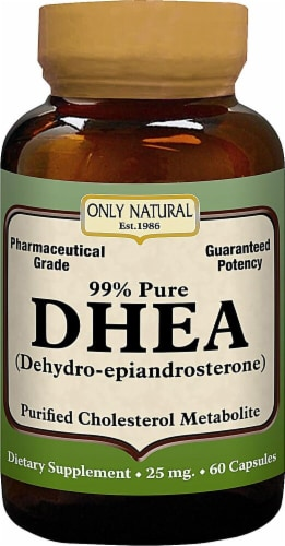 Only Natural  DHEA Perspective: front