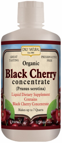 Only Natural  Black Cherry Concentrate Perspective: front