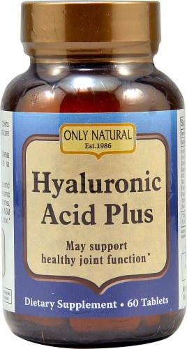 Only Natural  Hyaluronic Acid Plus Perspective: front