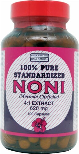 Only Natural  Pure Standardized Noni Perspective: front