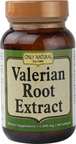 Only Natural  Valerian Root Extract Perspective: front