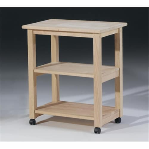 International Concepts 185 Microwave Cart Perspective: front