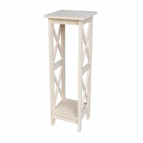 International Concepts OT08-3069X 36 in. X-Sided Plant Stand Perspective: front