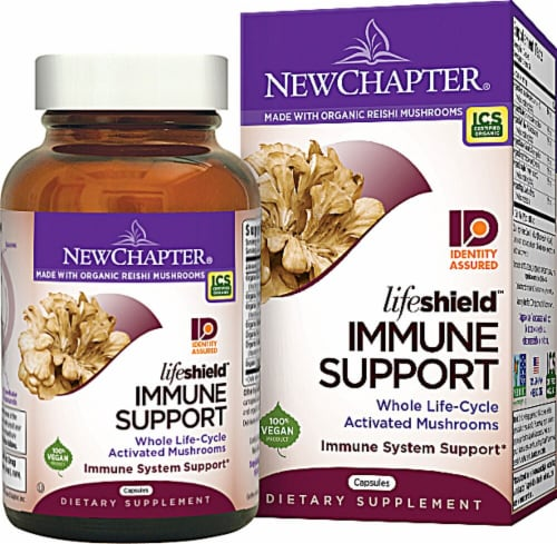 New Chapter  Lifeshield™ Immune Support Perspective: front