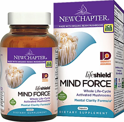 New Chapter  Lifeshield® Mind Force™ Perspective: front