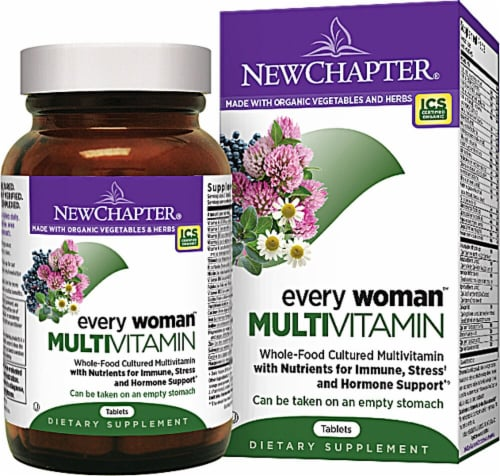 New Chapter  Every Woman™ Multivitamin Perspective: front