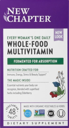 New Chapter Organics Every Woman's One Daily Multi Perspective: front