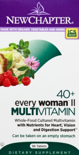 New Chapter Every Woman II 40 Plus Multivitamin 96 Count Perspective: front