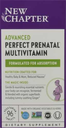 New Chapter Og Perfect Prenatal Perspective: front