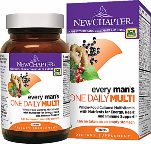New Chapter  Every Man's® One Daily Multivitamin Perspective: front