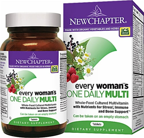 New Chapter  Every Woman's One Daily Multivitamin Perspective: front