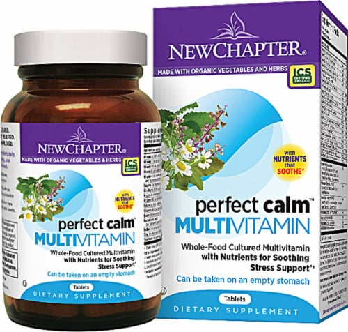 New Chapter  Perfect Calm™ Multivitamin Perspective: front