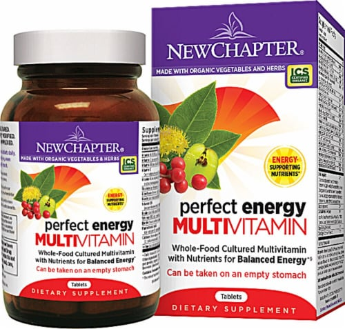 New Chapter  Perfect Energy Multivitamin Perspective: front