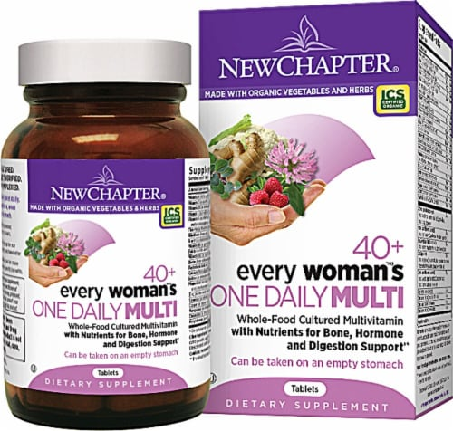 New Chapter  Every Woman's™ One Daily Multi 40+ Perspective: front