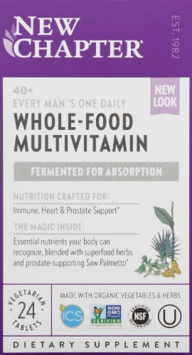 New Chapter 40 Plus Every Mens One Daily Multivitamin Perspective: front