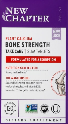 New Chapter Bone Strength Take Care Tablets Perspective: front