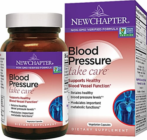 New Chapter  Blood Pressure Take Care™ Perspective: front